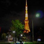 夜の東京タワー-1