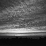 モノクロームで撮る夕焼け-1